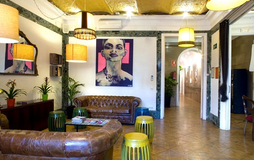 Swanky barcelona hostels sunshine and siestas spain - Casa gracia barcelona hostel ...