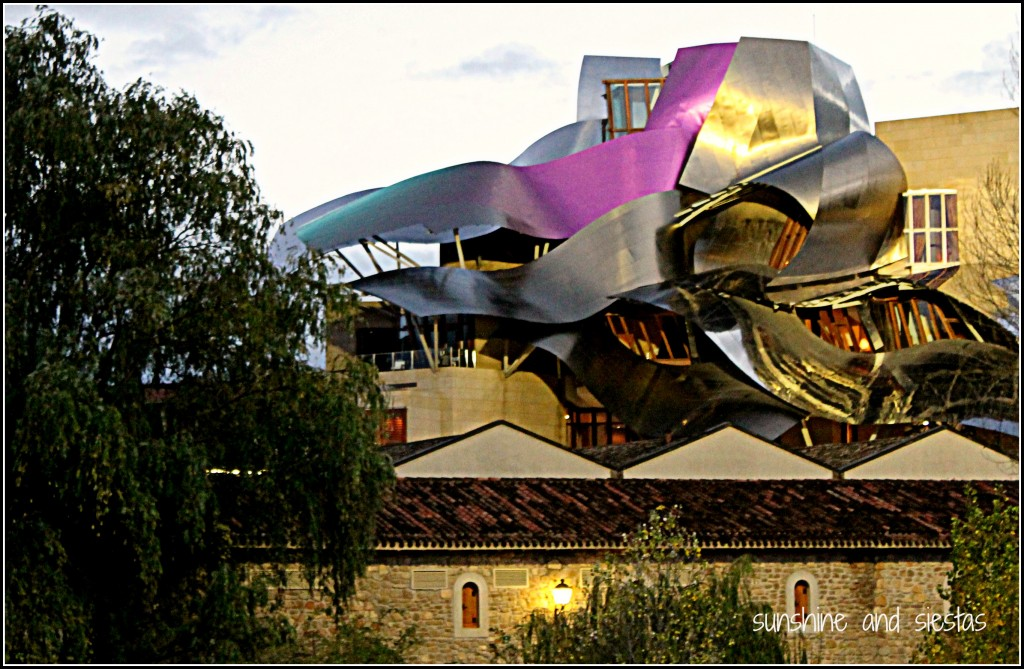 Travel highlights of the second half of 2012 sunshine for Calle marques de riscal
