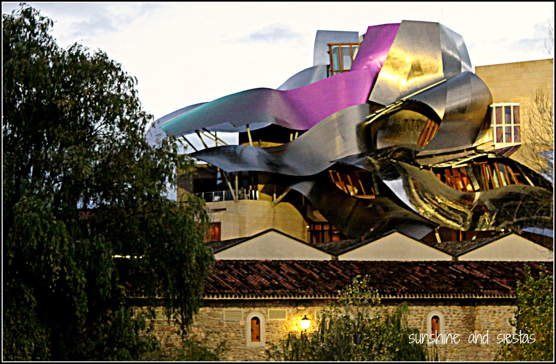 Seville snapshots bodegas marques de riscal in eltziego for Marquis de riscal