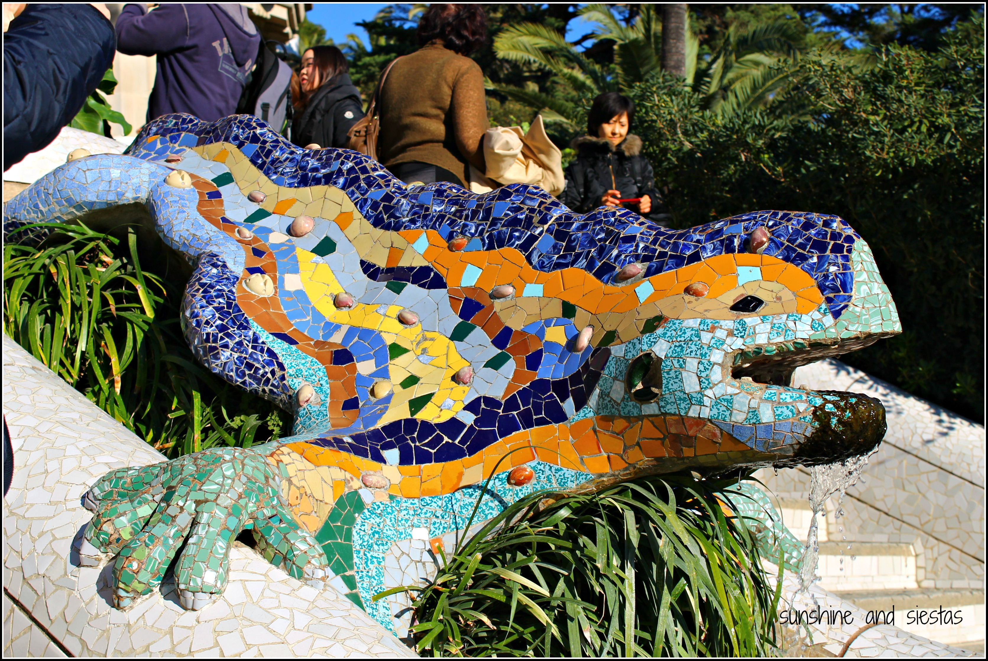 Places With Encanto Barcelonas Parc Guell