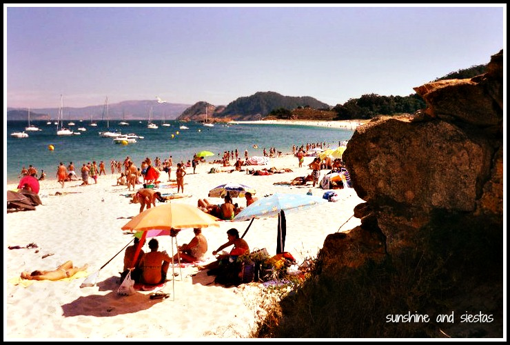 Camping in the Islas Cies  Sunshine and Siestas  Spain Travel and Culture Blog