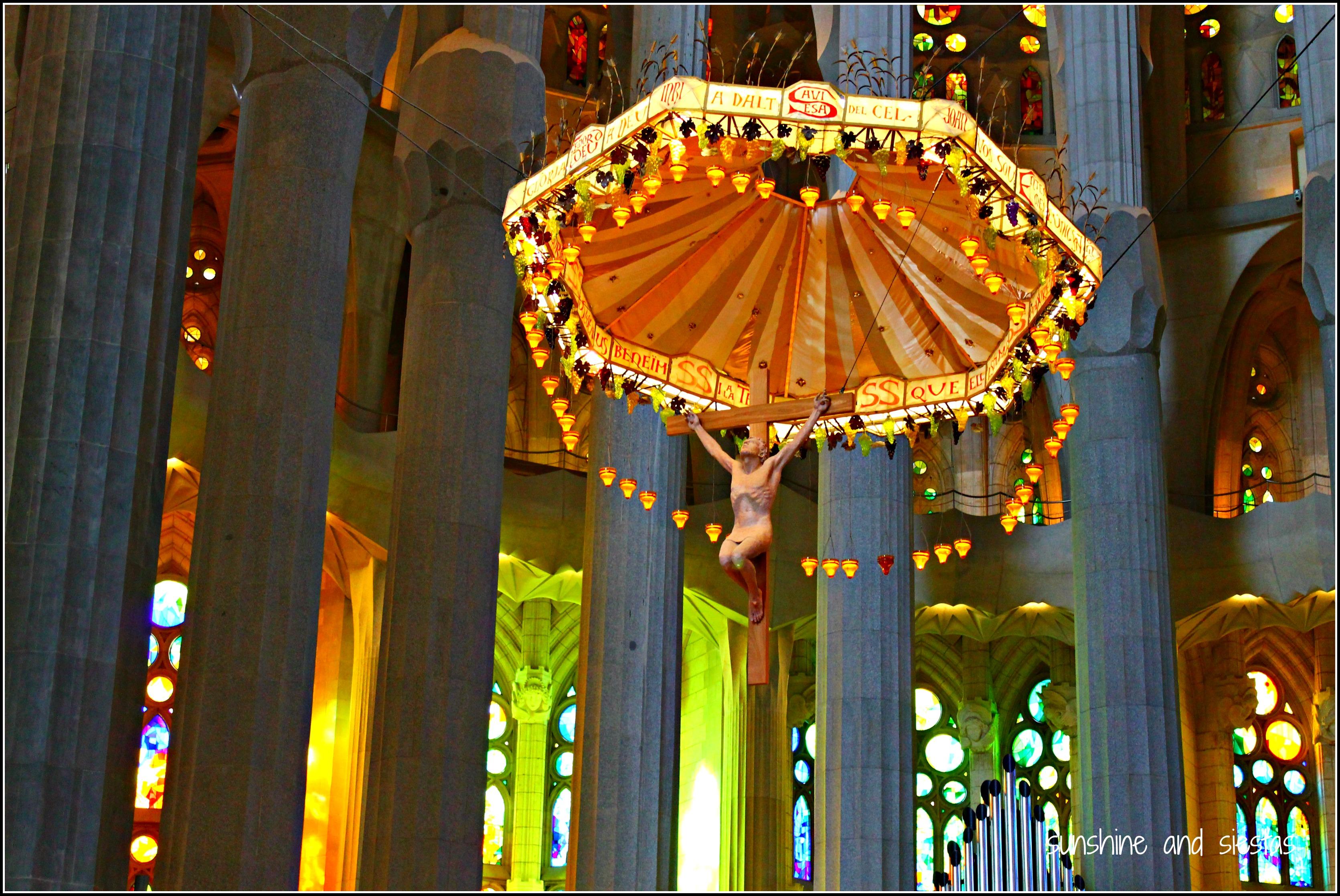 A Visit To Barcelona S Sagrada Familia Basilica Sunshine