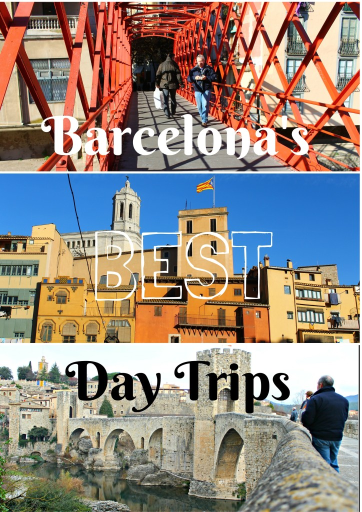 Three places you can't miss on your trip to Barcelona. Medieval towns, funky architecture...and another country?