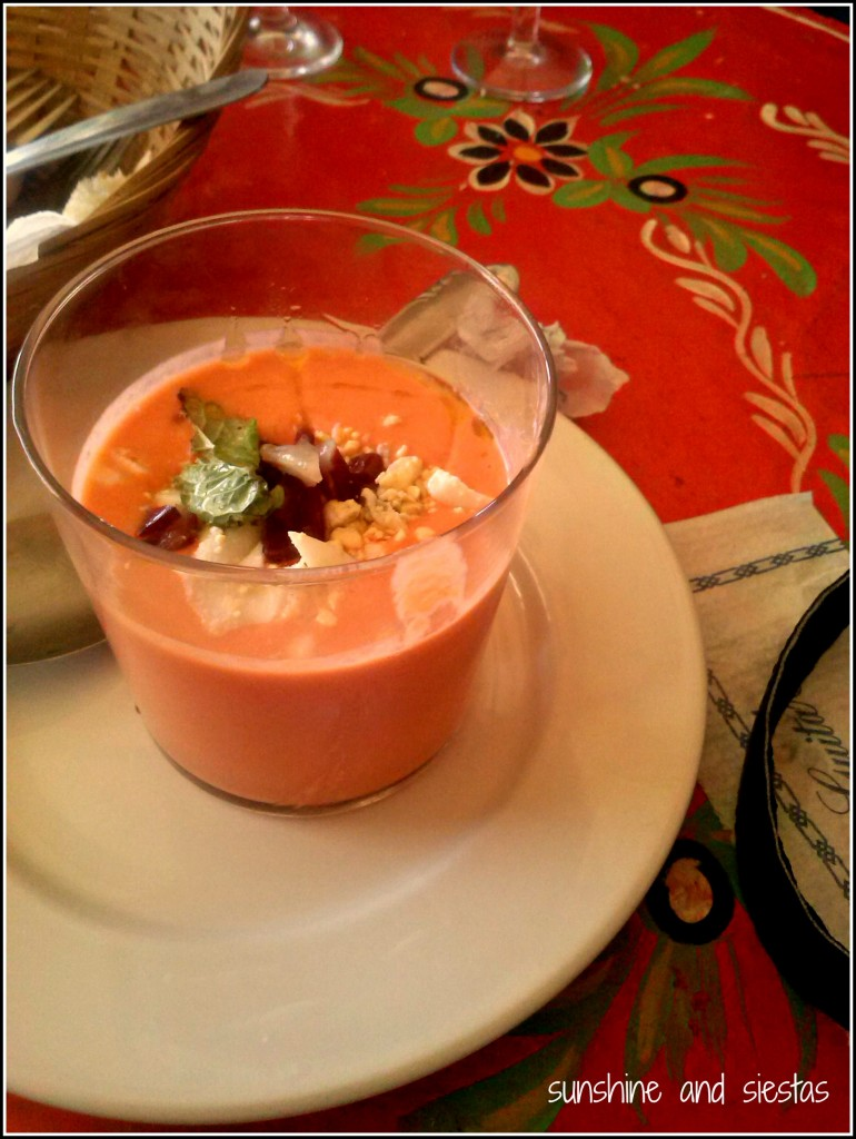 gazpacho andaluza in spain