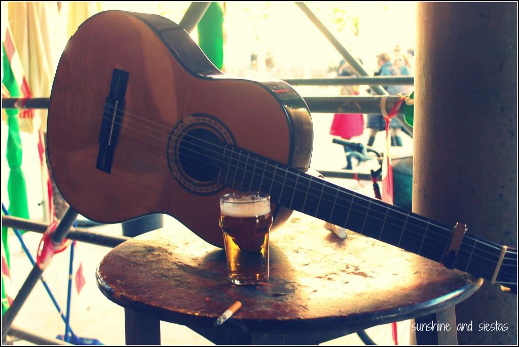 guitar in seville spain
