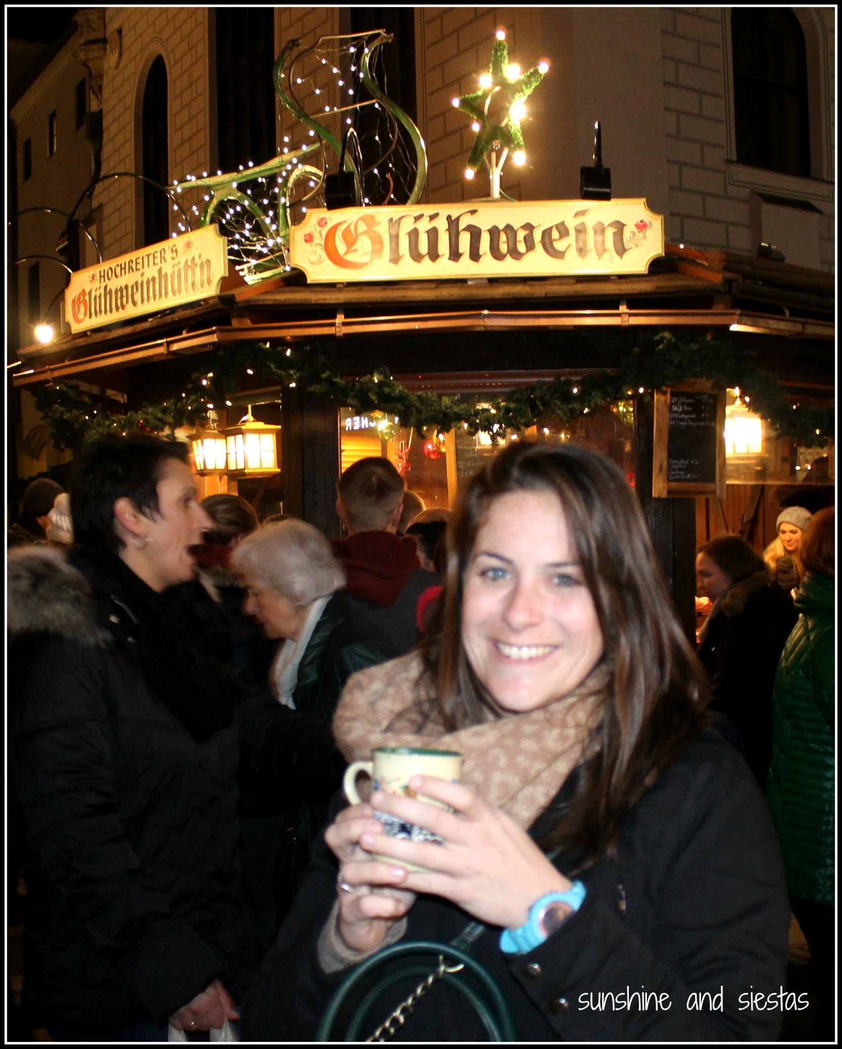 munich christmas market gluhwein