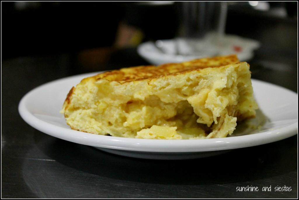 Tapa of Tortilla Española