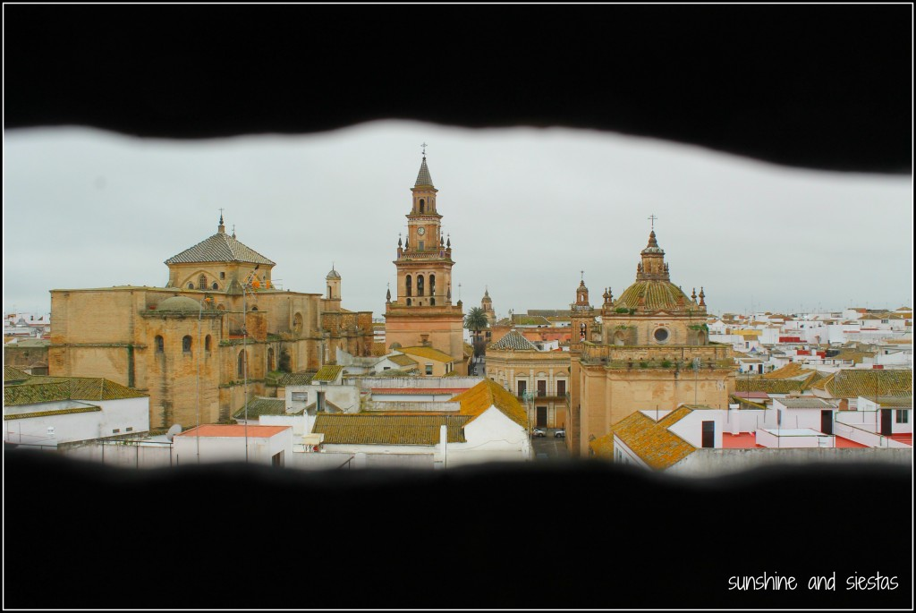 Carmona Spain from the watchtower of the Clarisa Nuns Convent