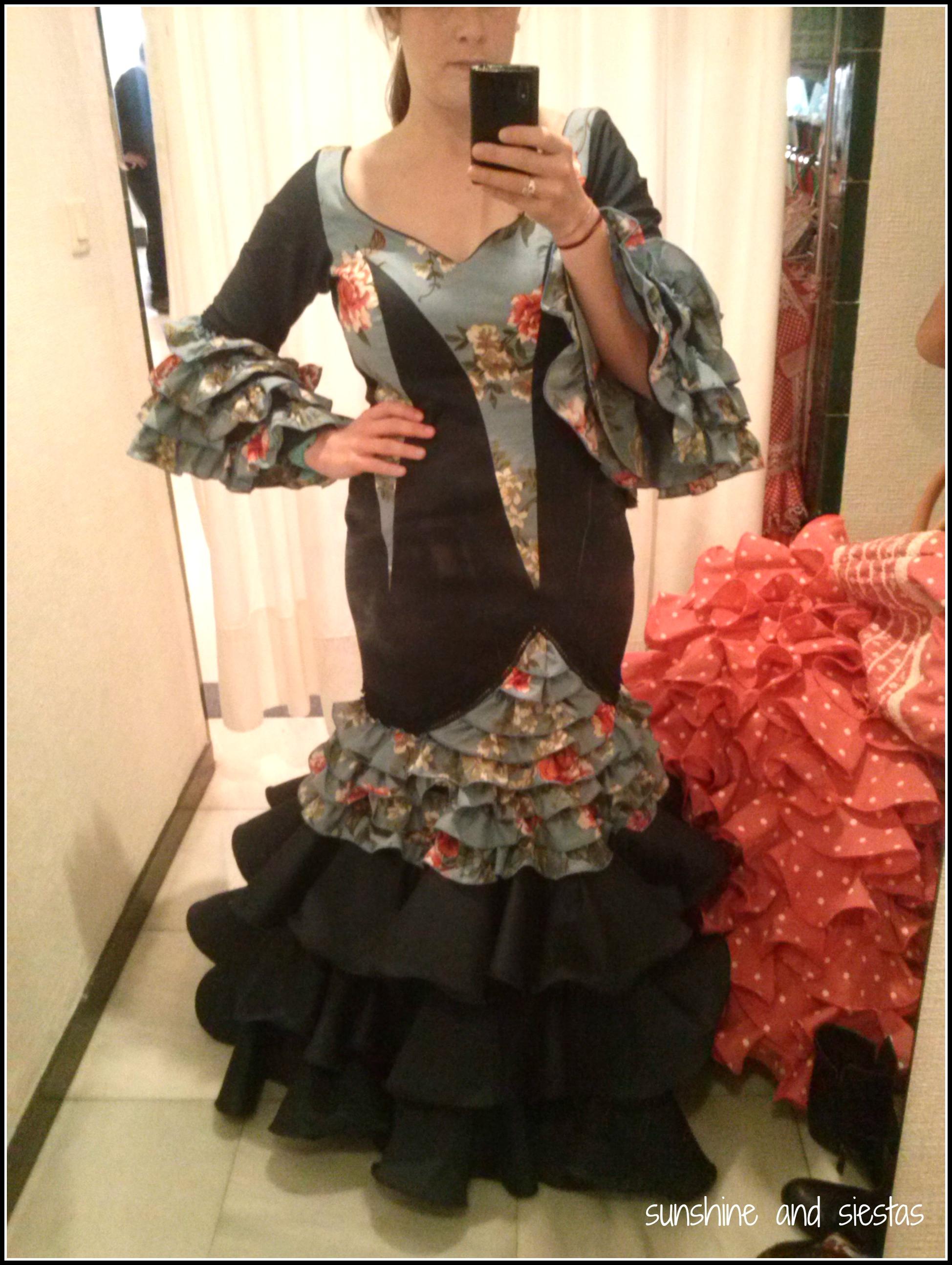 4b7179619d1a3 Shopping for a Flamenco Dress | Sunshine and Siestas | An American ...