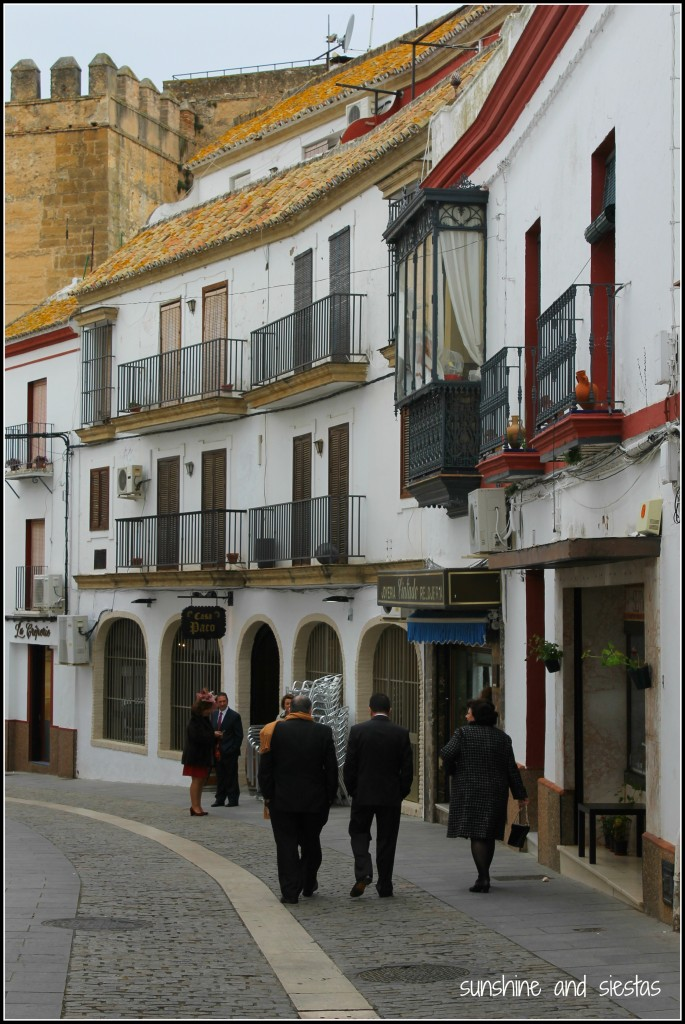 the streets of Carmona Spain