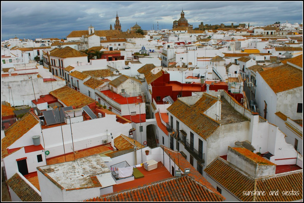 the village of Carmona Spain