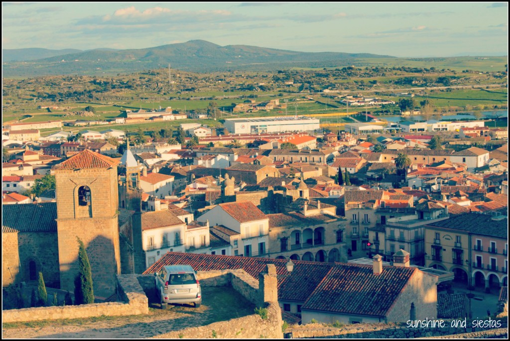 view of Trujillo, Extremadura