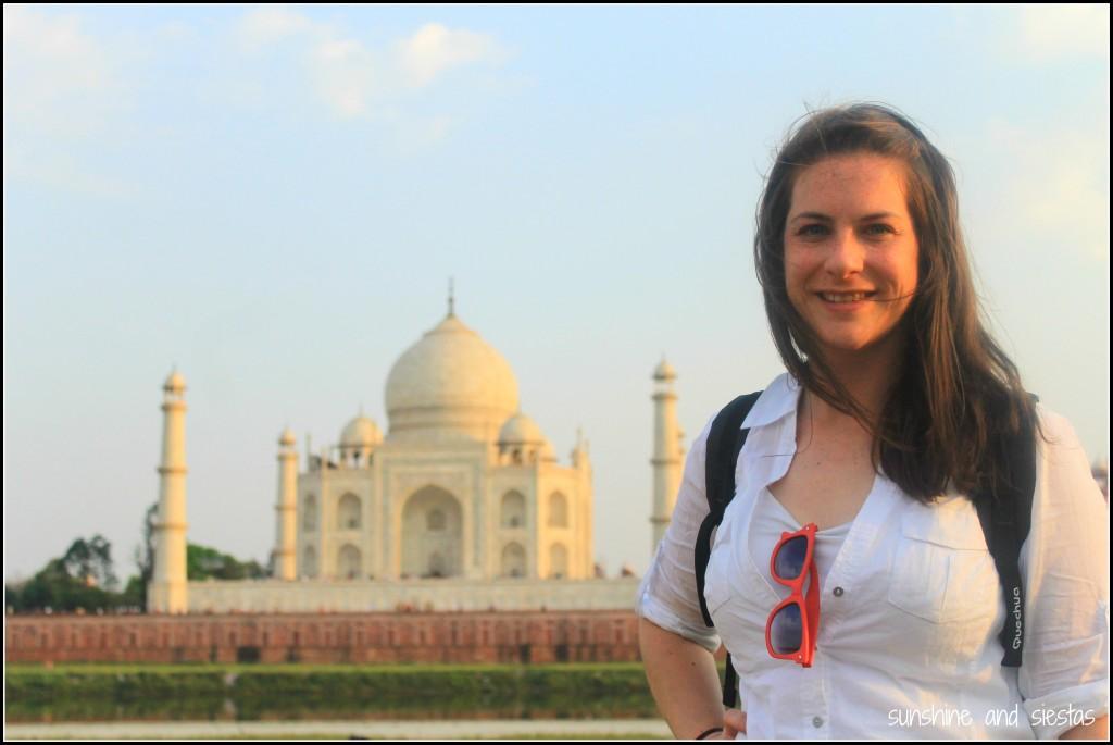 Learning by doing in India - Taj Mahal