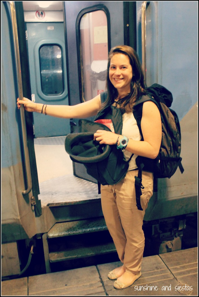 Learning in India - Riding the Train