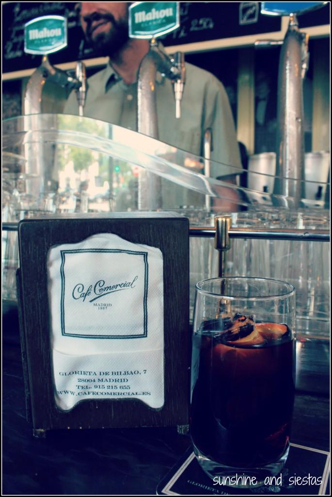 Vermouth at Cafe Comercial