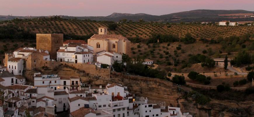 Sentenil de las Bodegas, Cadiz, a Pueblo Blanco