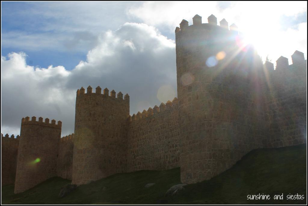 Las Murallas de Avila y su Visita