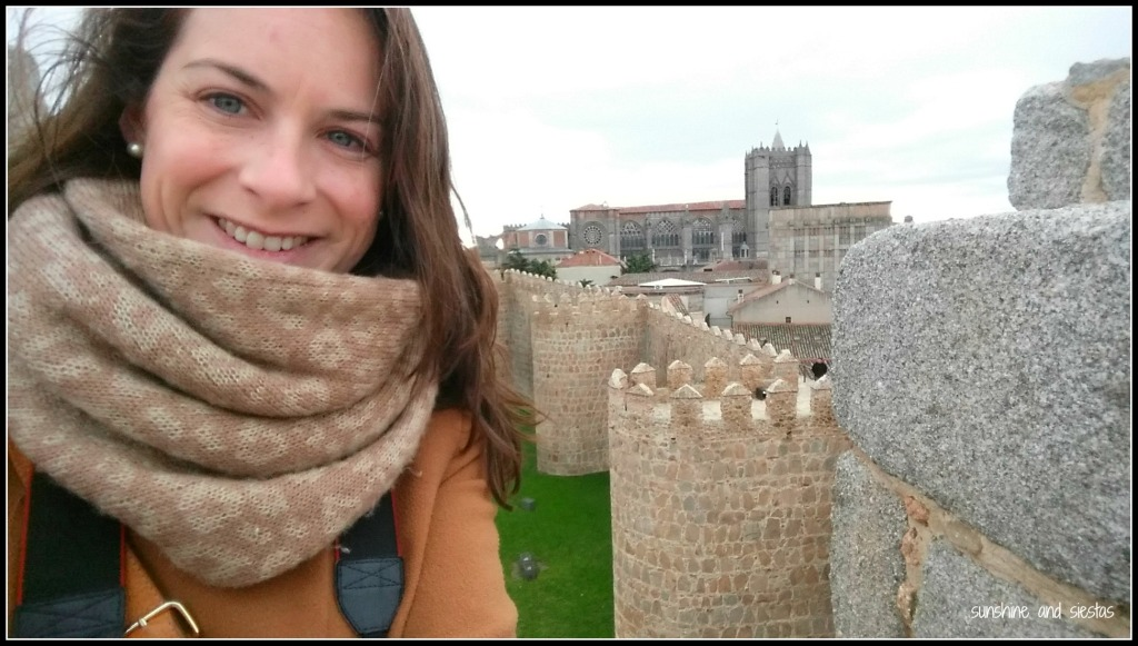 Selfie at the Murallas de Avila