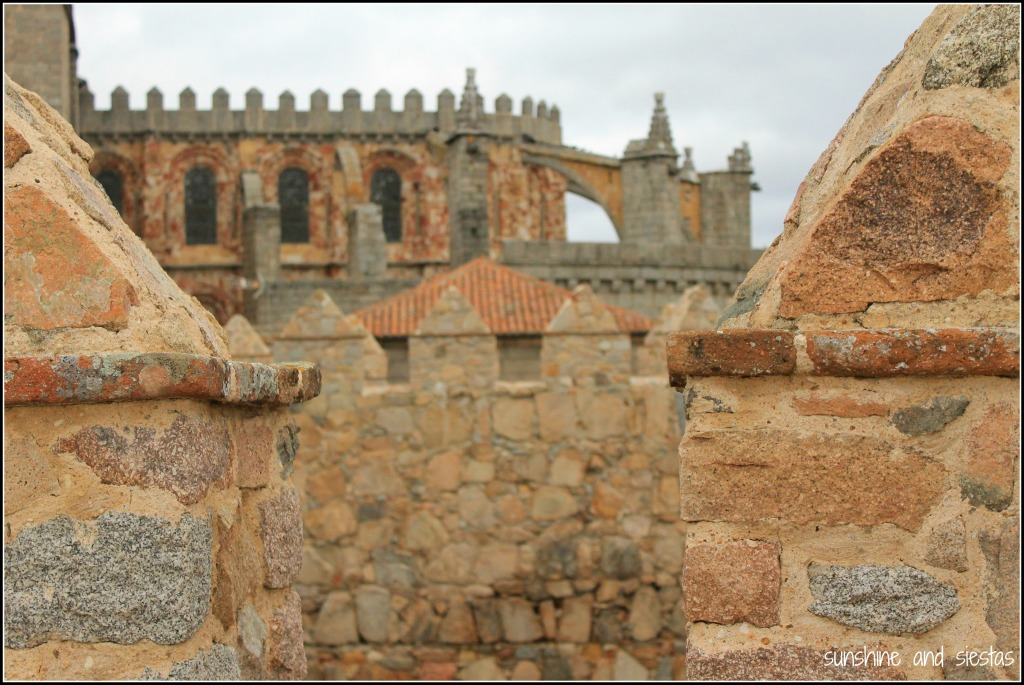The Cathedral of Avila from the City Walls