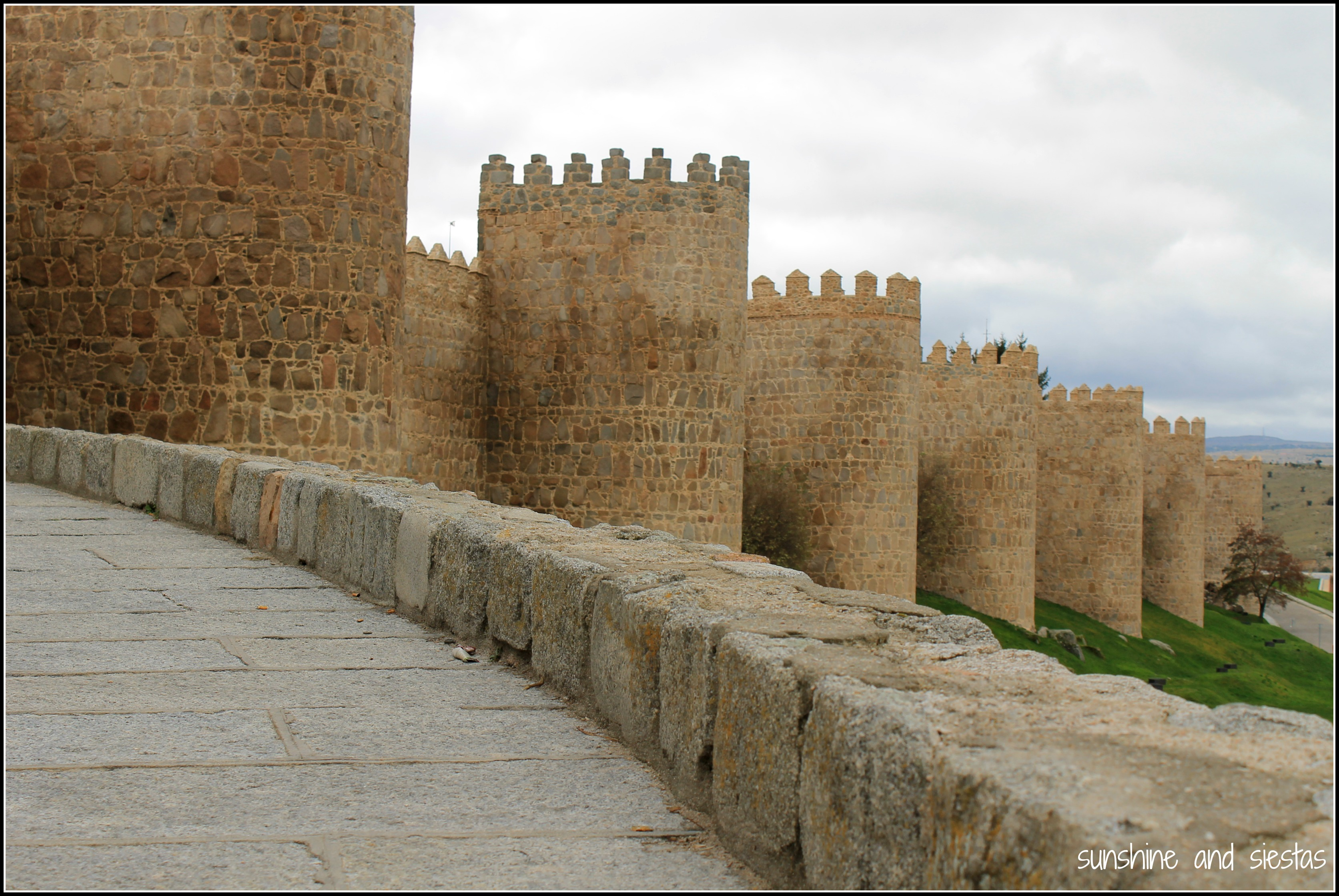 Visiting Ávilas City Walls  Sunshine and Siestas  An American Expat in...