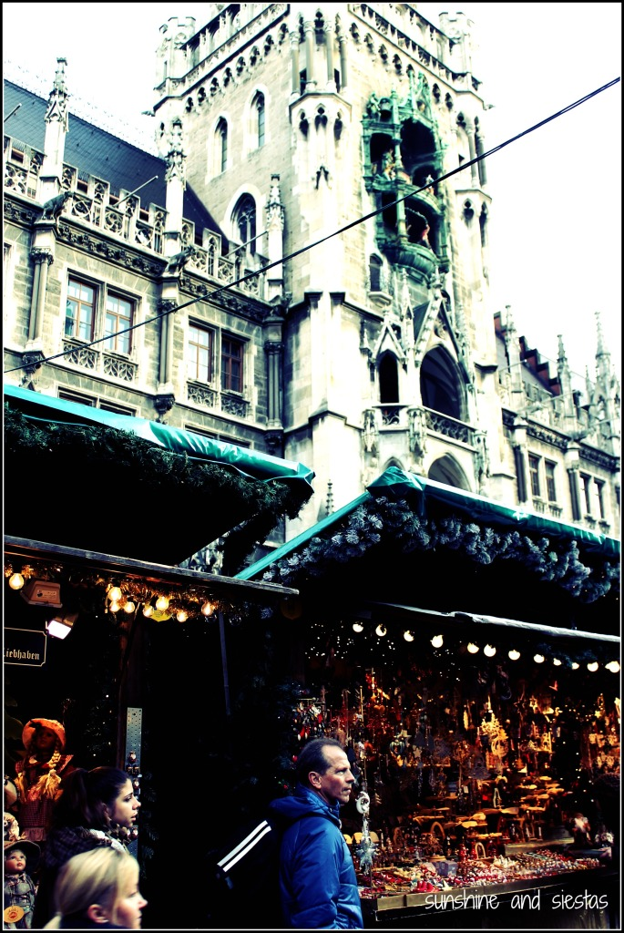 Christmas time in the Munich markets