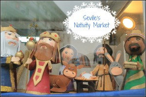 Seville's Nativity Market