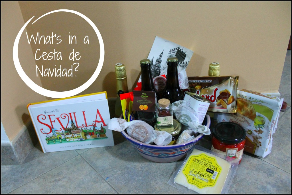 What is in a Spanish gift basket