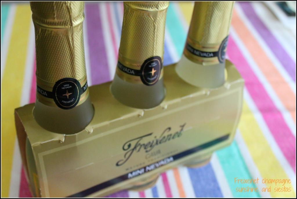 cesta de navidad champagne