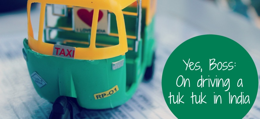 How to Drive a Tuk Tuk in India