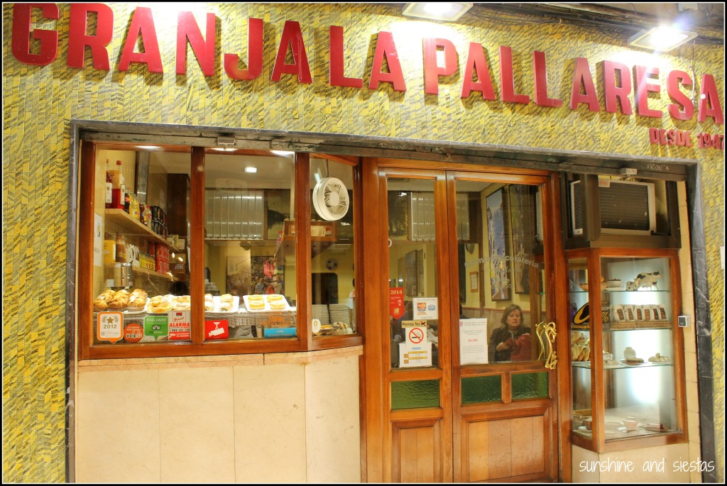 Pastry shop in Barcelona