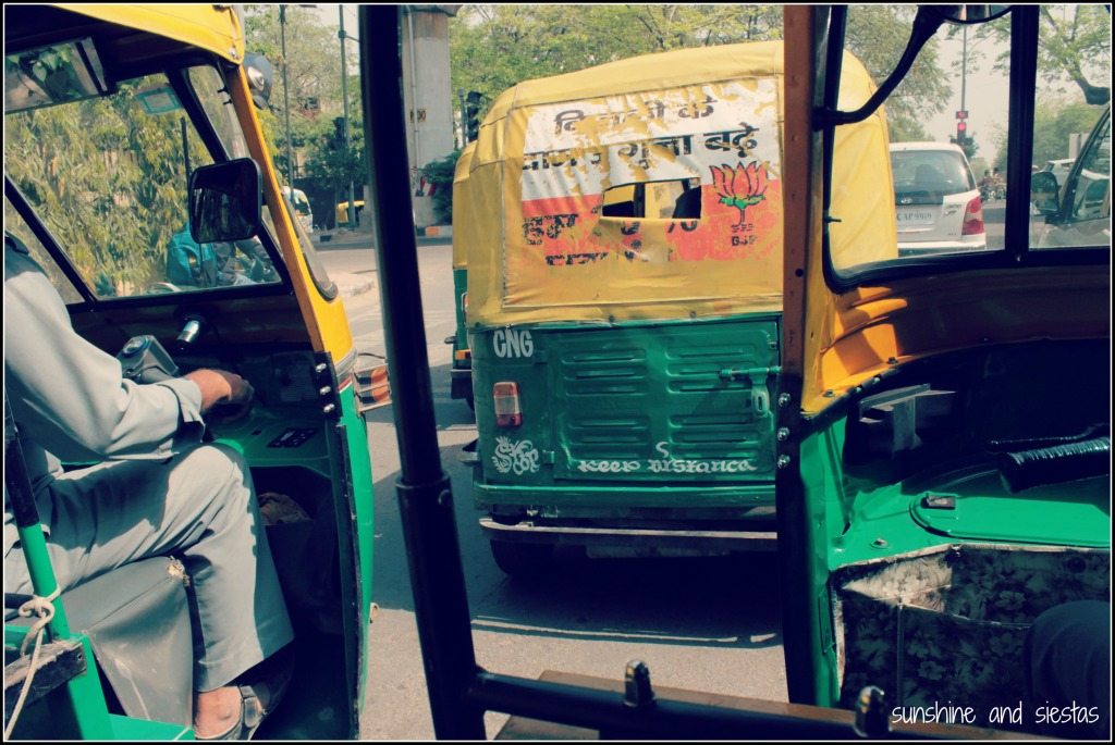 Tuk Tuks in India