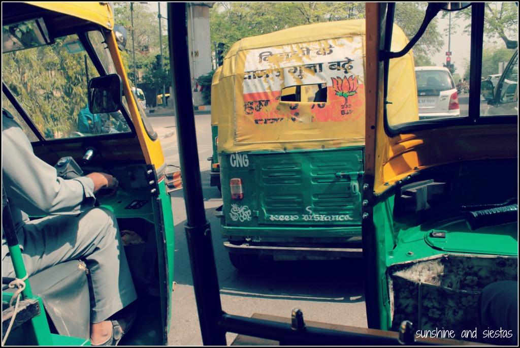 Tuk Tuks in India