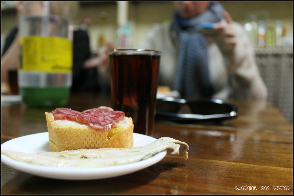 Vermout bar on Devour Barcelona Food Tour