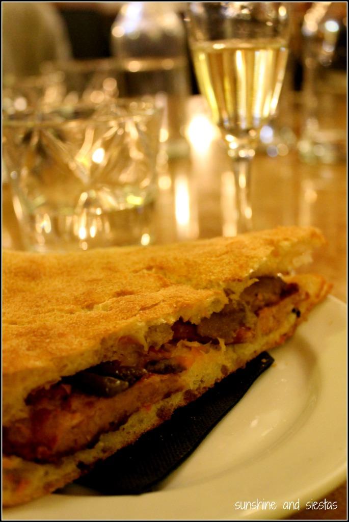 butifarra and cava on Devour Barcelona Food Tour
