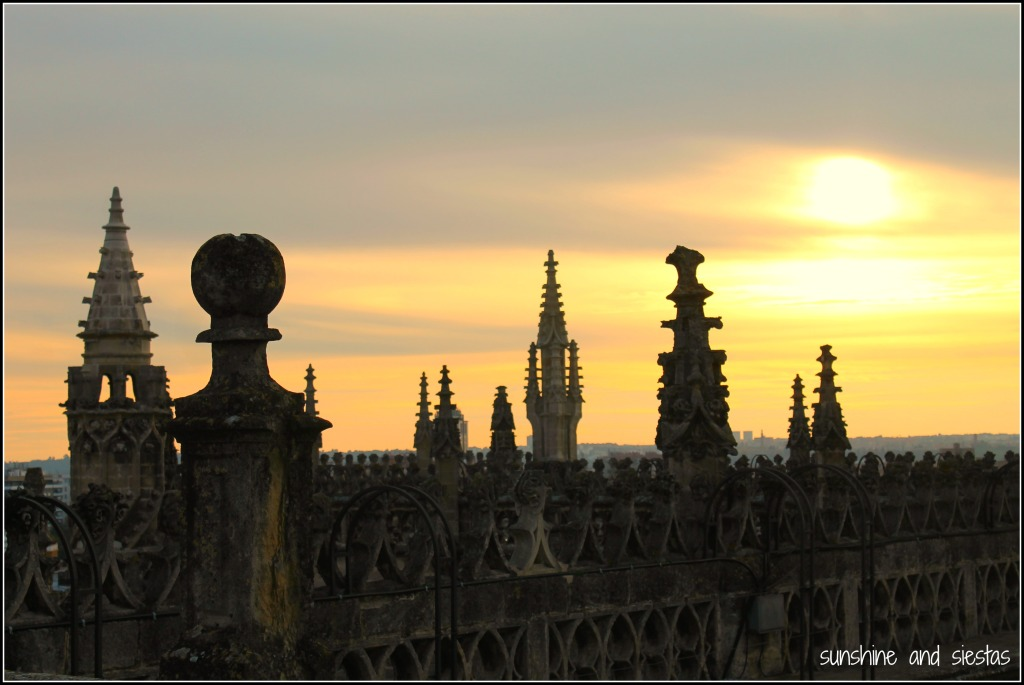 sunset Seville Spain