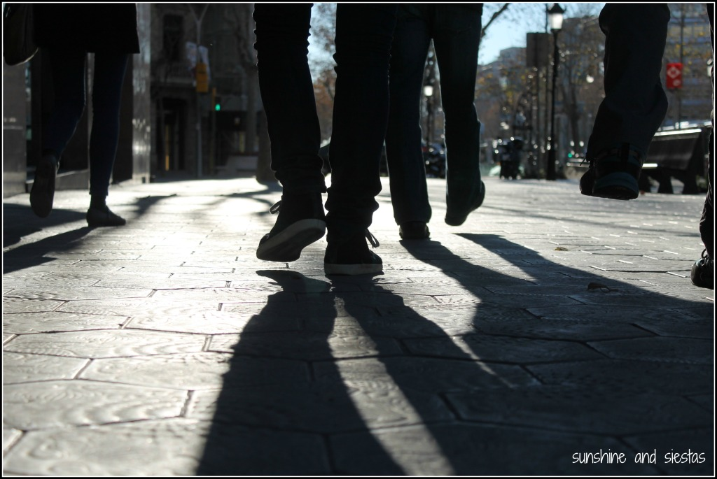 walking tours in Spain