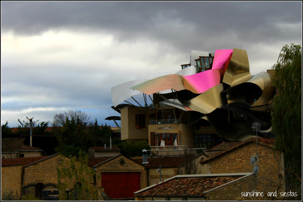 Marques de Riscal winery in Eltziego