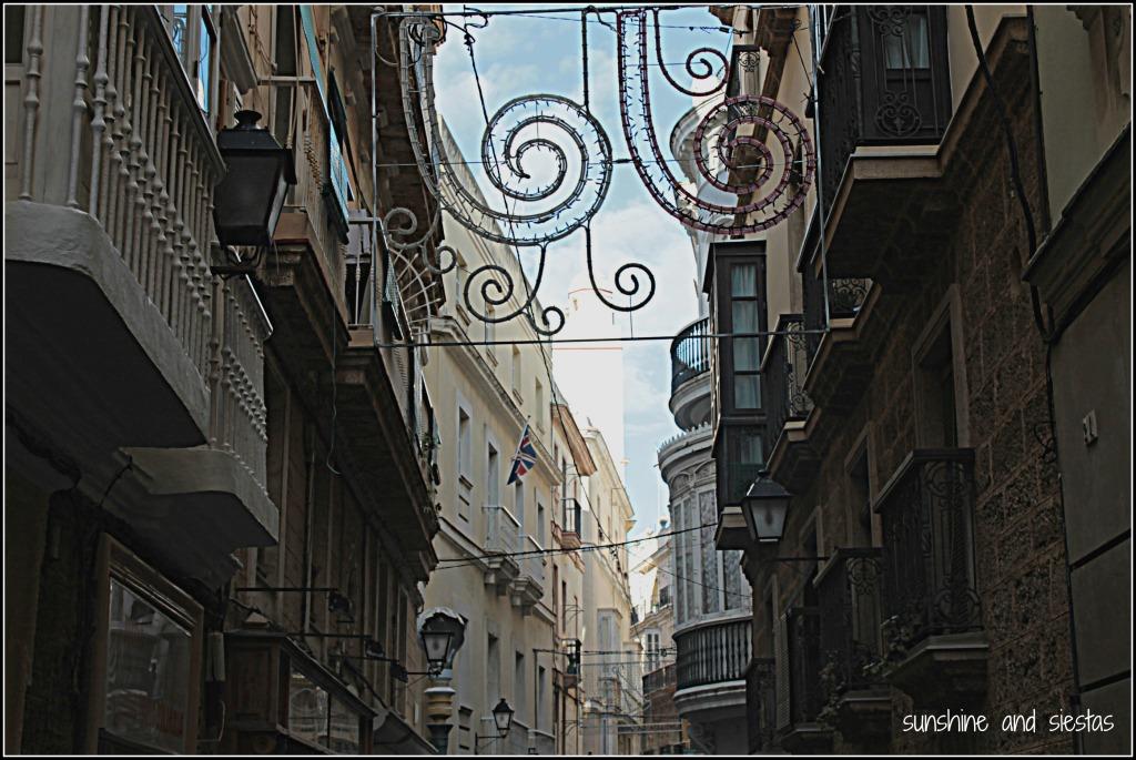 Streets of Cádiz old town