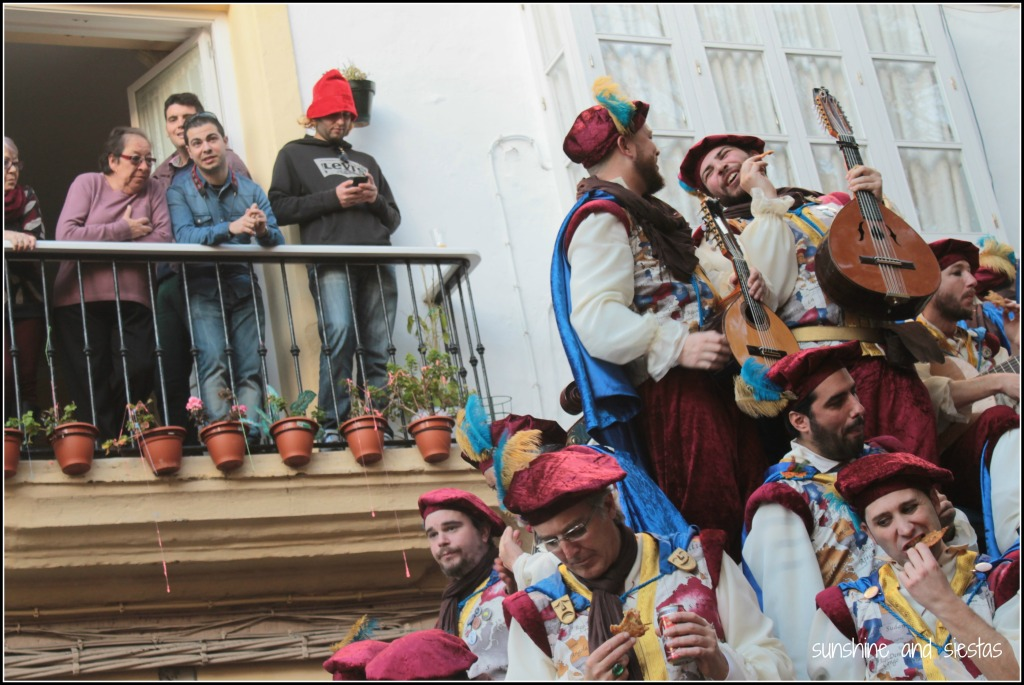 carnival in Cadiz chirigotas