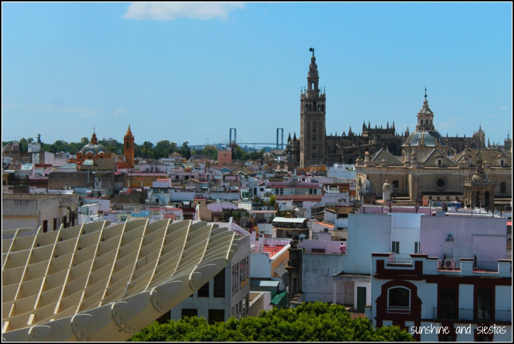 A view of Seville from the Setas
