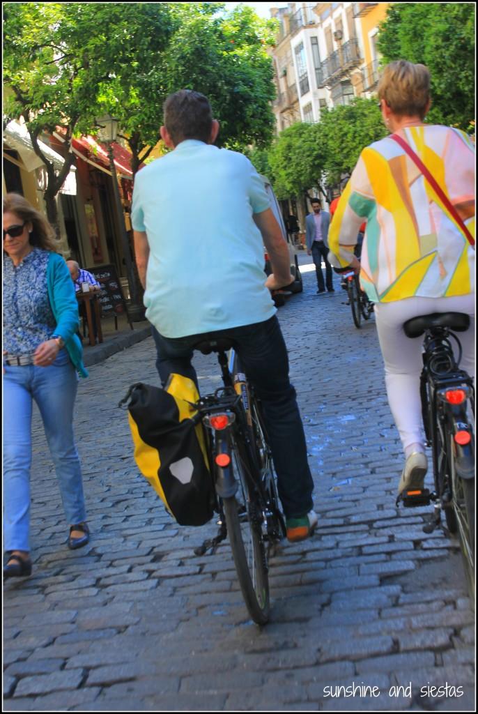 Bike Tour Barrio Santa Cruz Sevilla