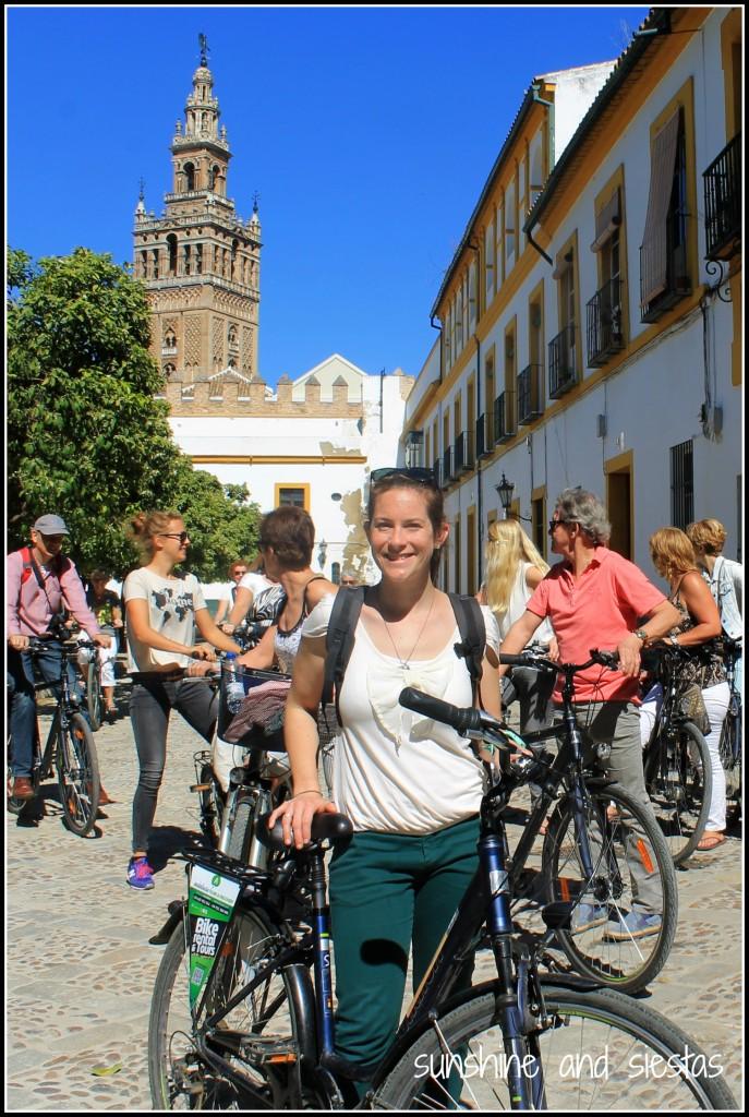 Bike Tour Sevilla Patio de las Banderas