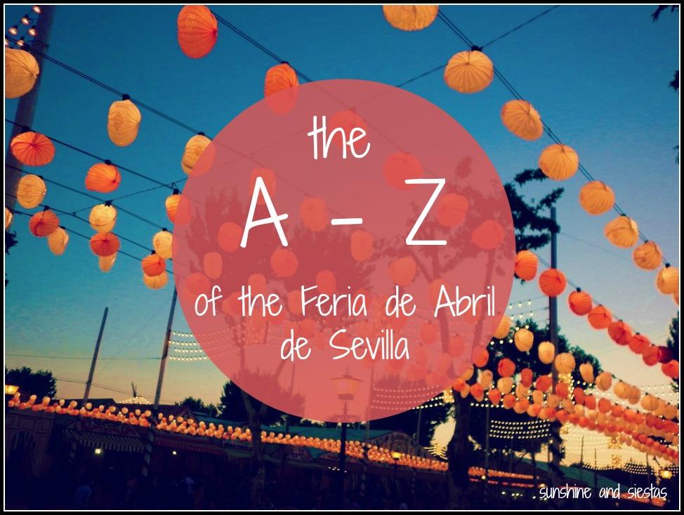 Feria de Abril Glossary