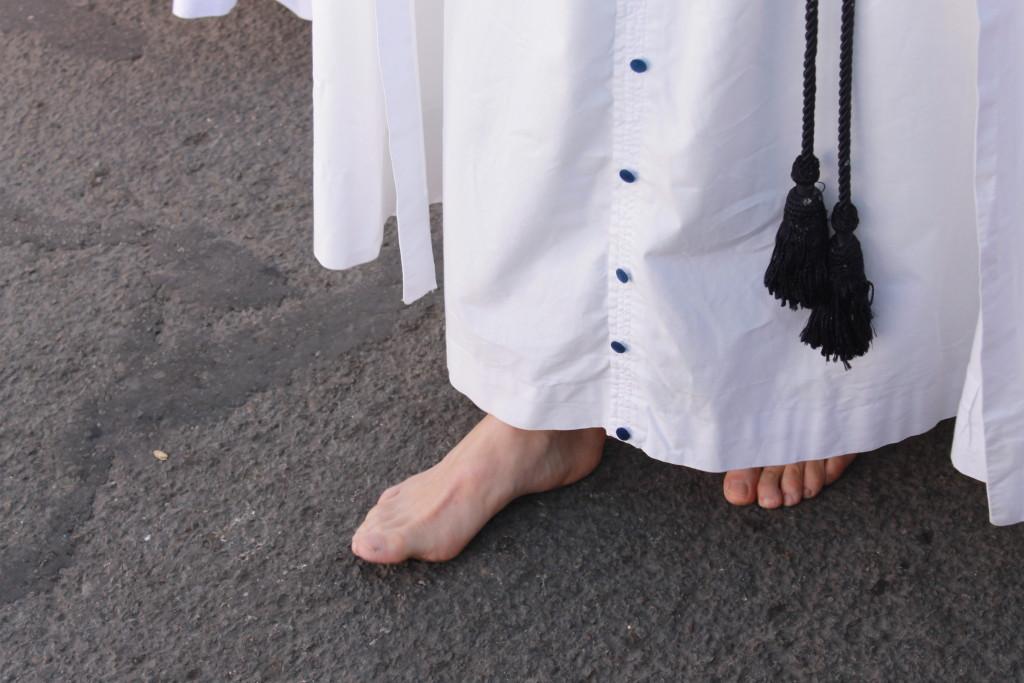 Barefoot penitents