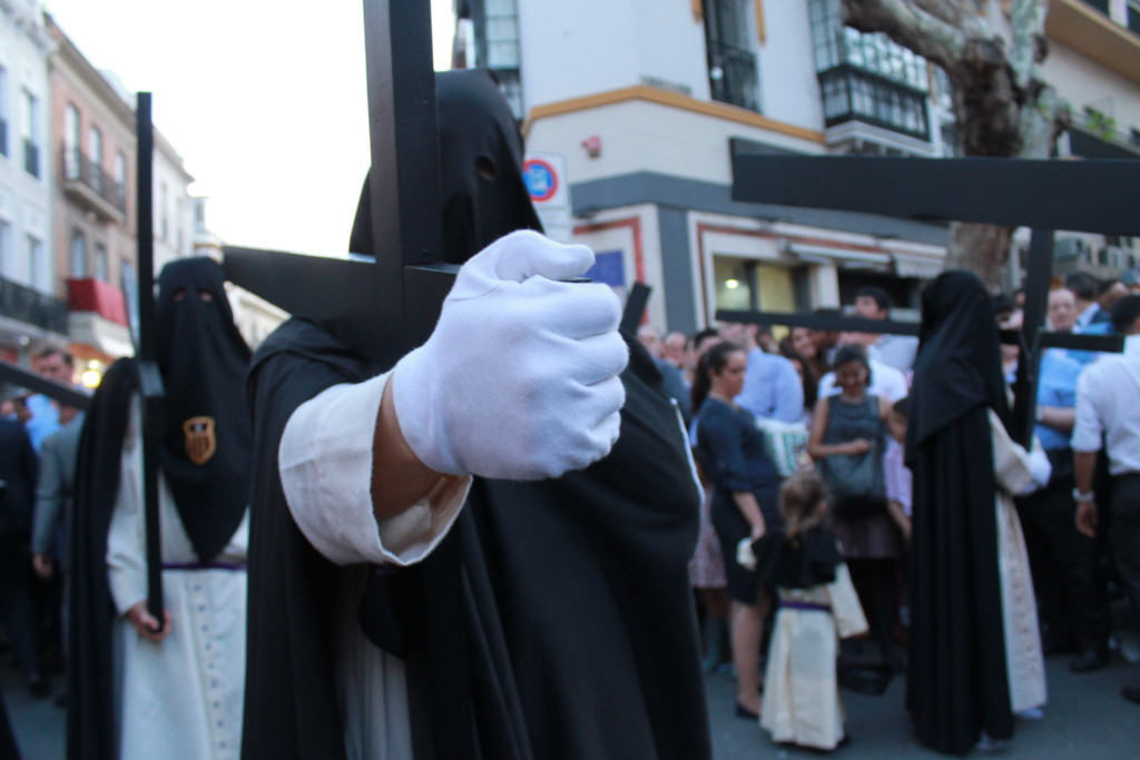 Penitence Cross Holy Week Seville