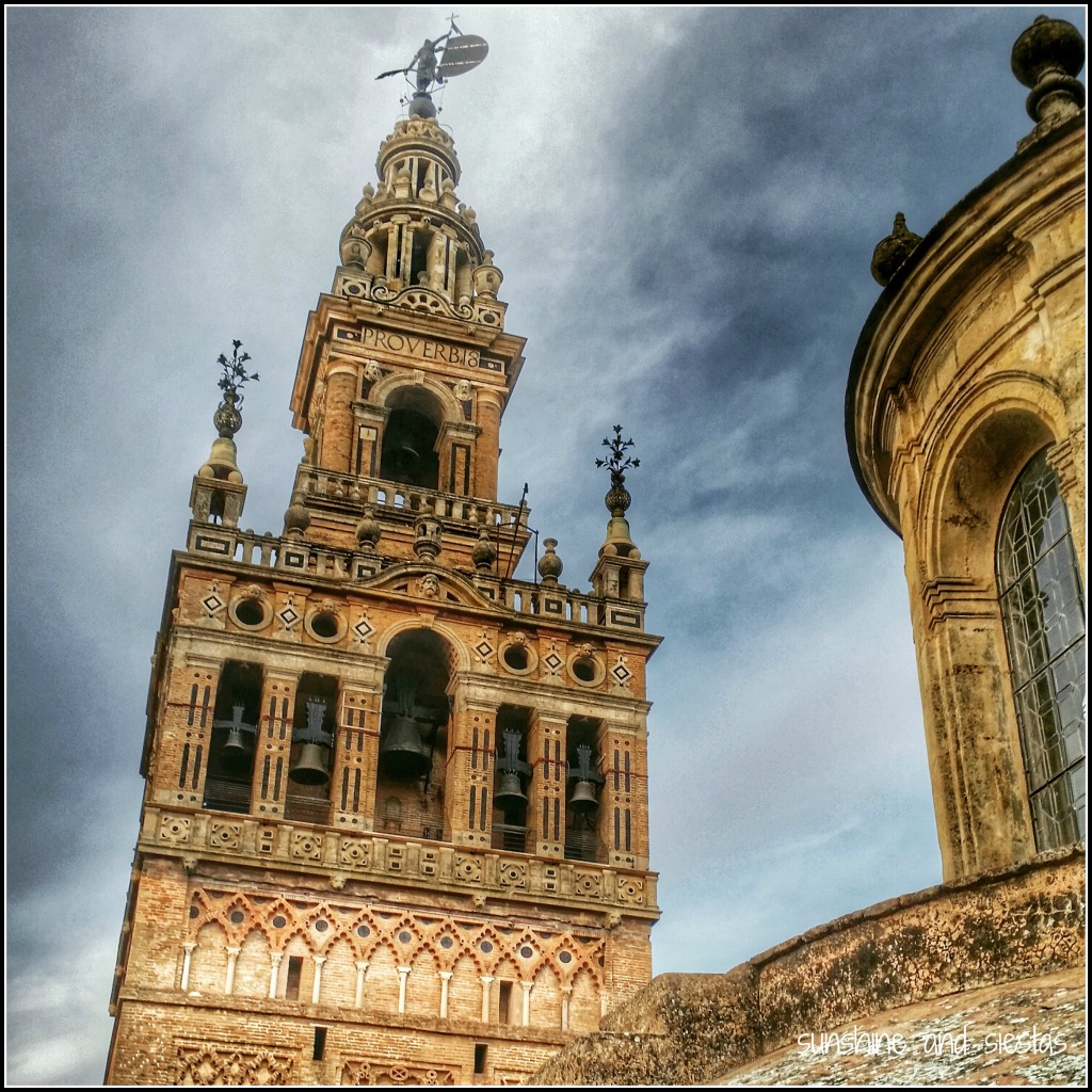 up close and personal with the giralda