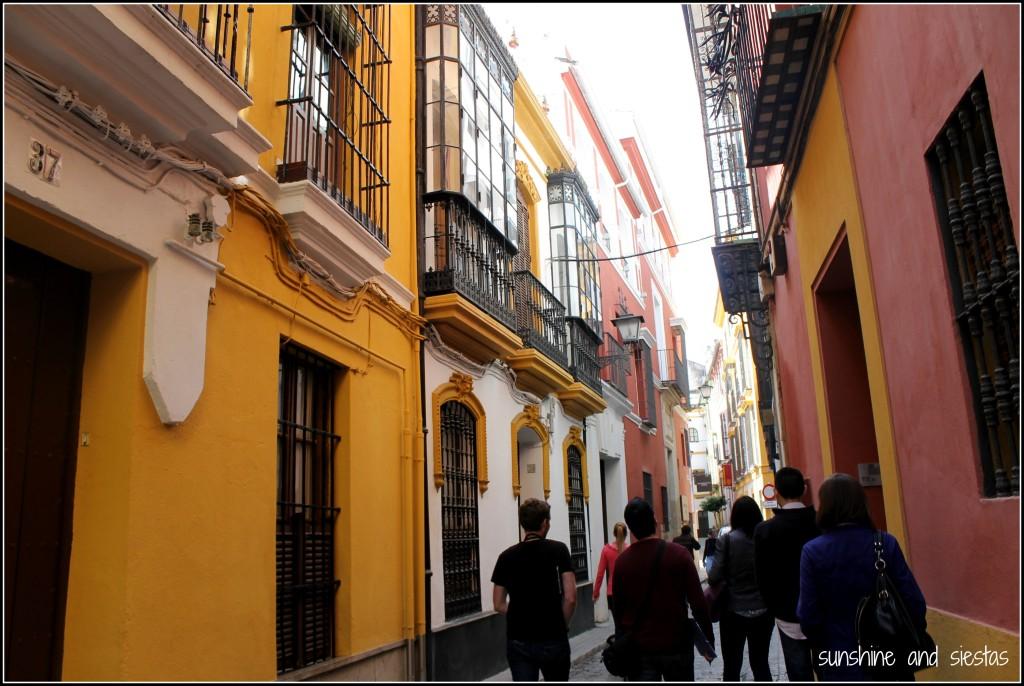 Walking in Central Seville