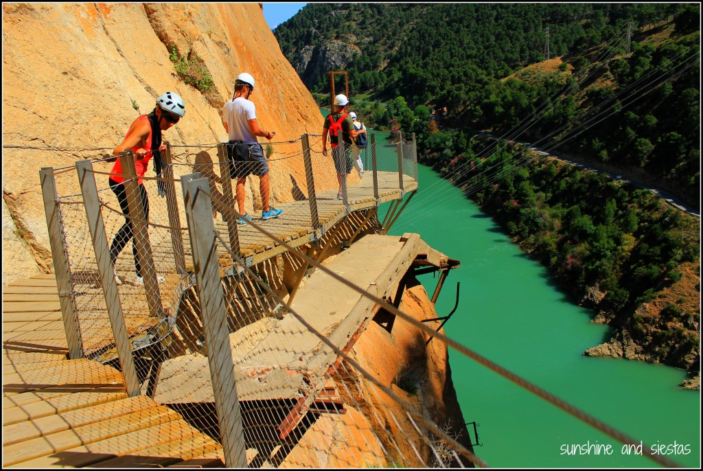 Crossing the Caminito del Rey