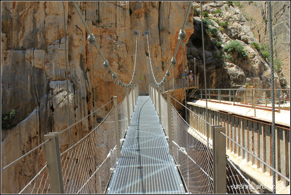 Hanging Bridge in Malaga