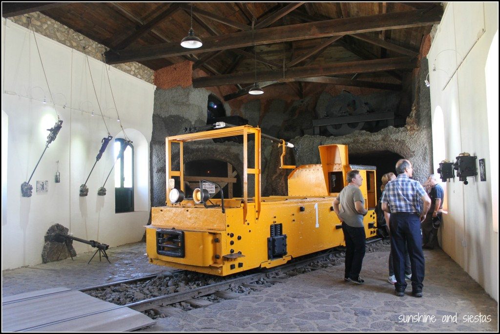 Museo Minero en Riotinto Huelva